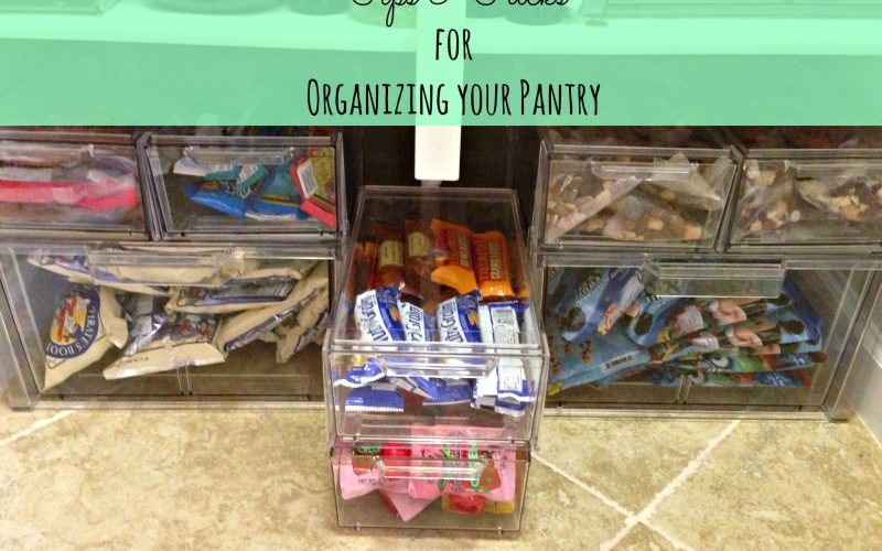 Let's Get Organized~Pantry Edition