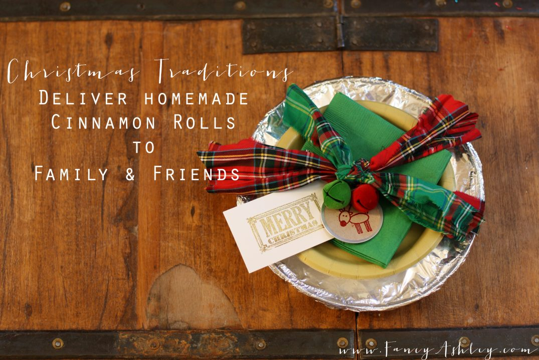 Christmas Traditions: Homemade Cinnamon Rolls // Fancy Ashley