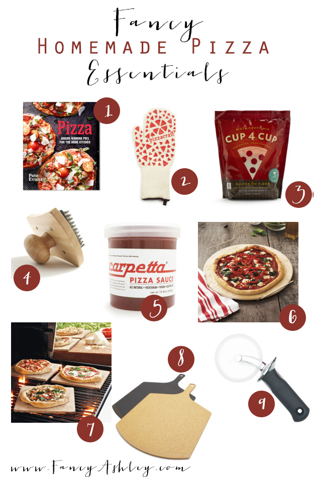 Fancy Homemade Pizza Essentials // Fancy Ashley