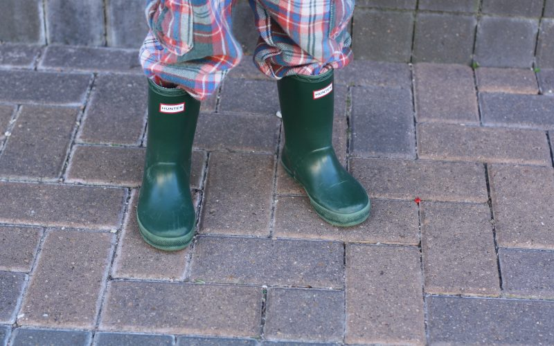 it's not about the rain boots