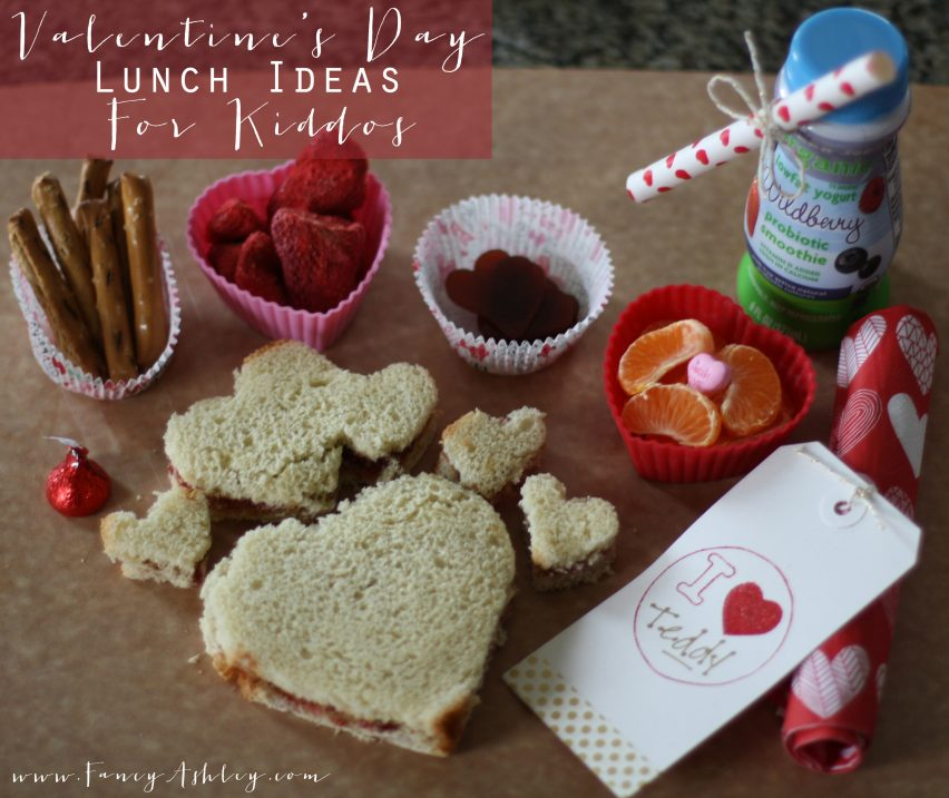 Valentine's Day Lunch Ideas for Kiddos // Fancy Ashley