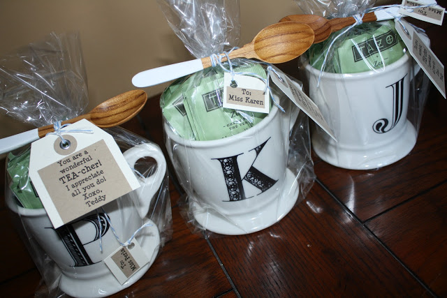 Tea-cher Gift Idea