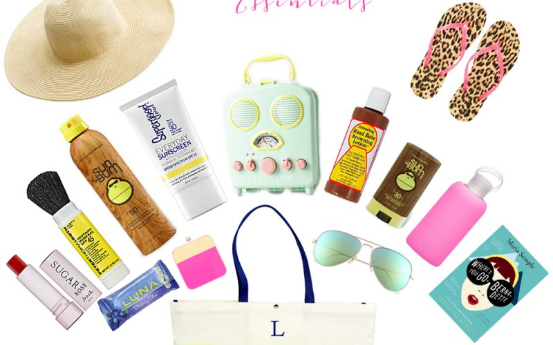 Beach and Pool Essentials for the Fancy Mom