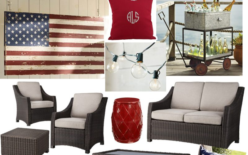 Star Spangled Patio Inspiration