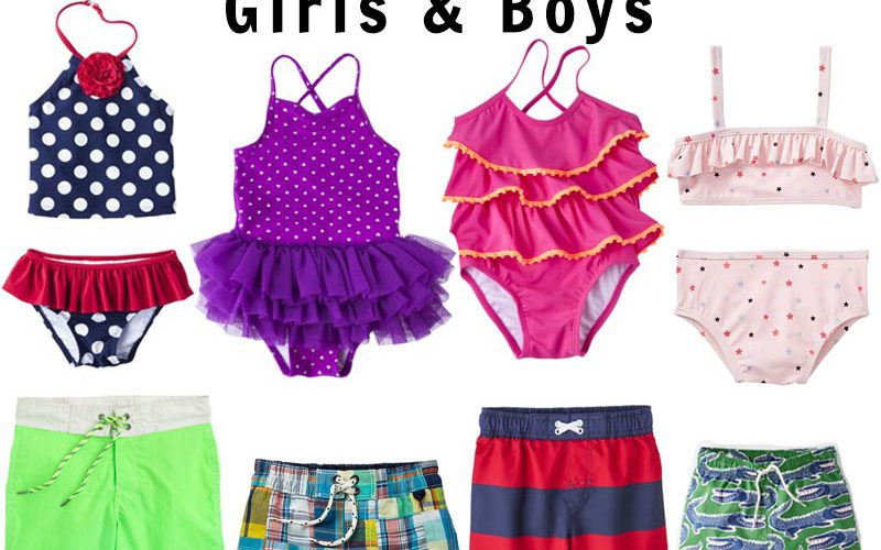 Summer Swimsuits for Girls and Boys