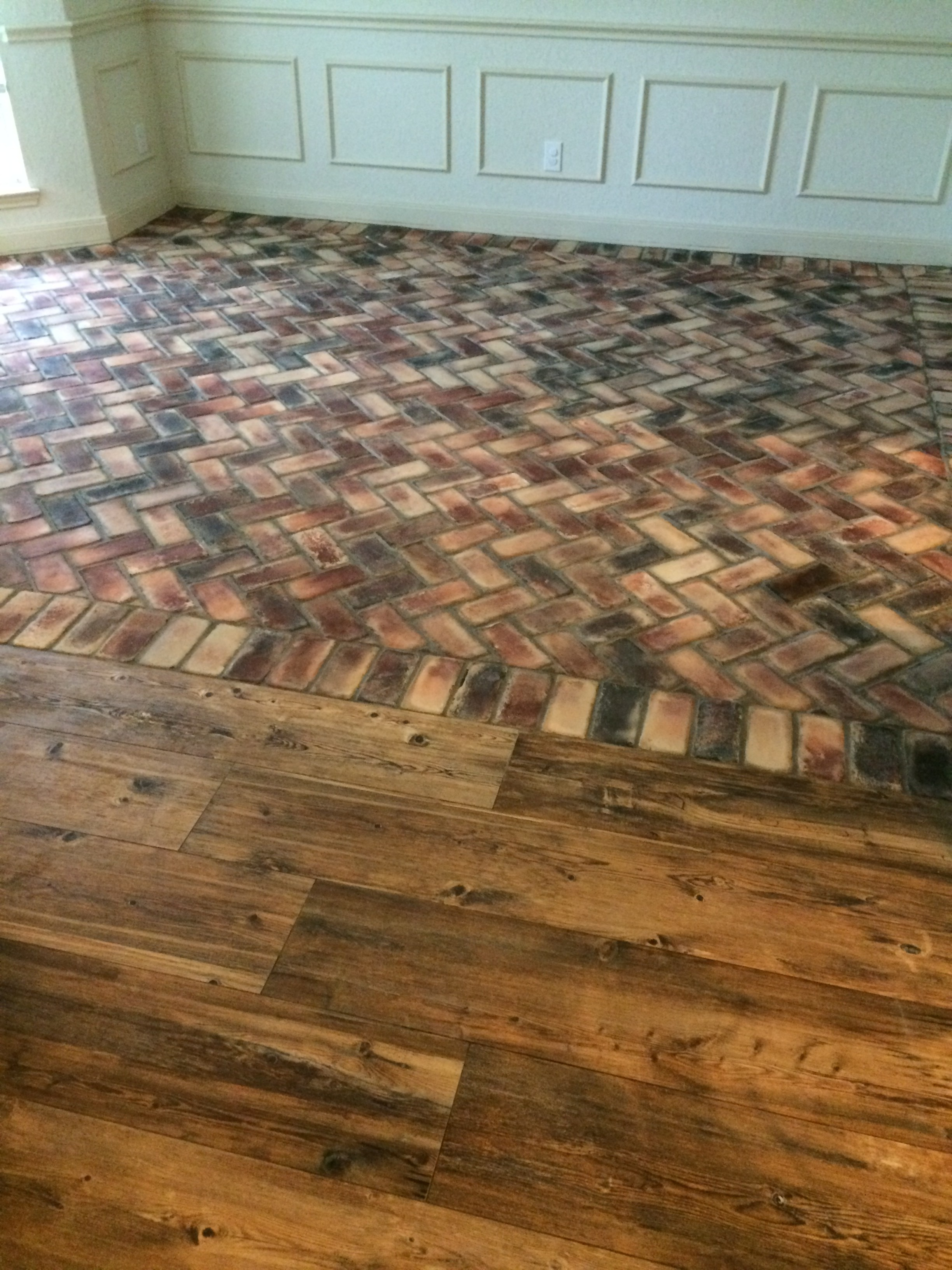Ceramic Wood Tile And Brick Flooring Fancy Ashley