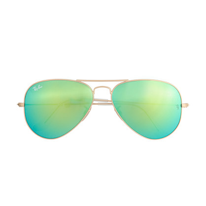 Polarized Aviator with Green Lens