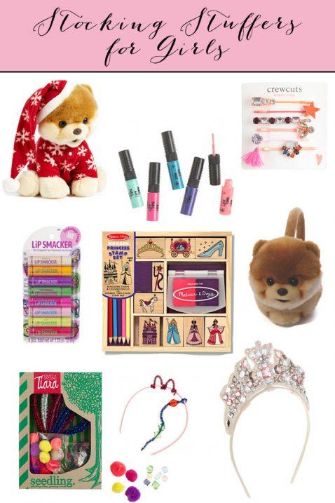 Stocking Stuffers for Girls // Fancy Ashley