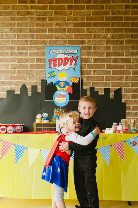 Teddy's 6th Superhero Bash // Fancy Ashley