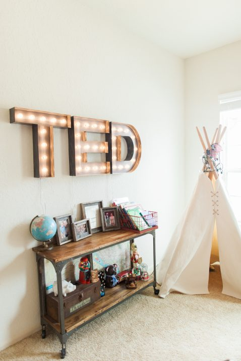 Boys Super Hero Bedroom // Fancy Ashley