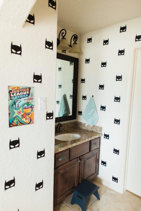 Boys Super Hero Bedroom // Fancy Ashley
