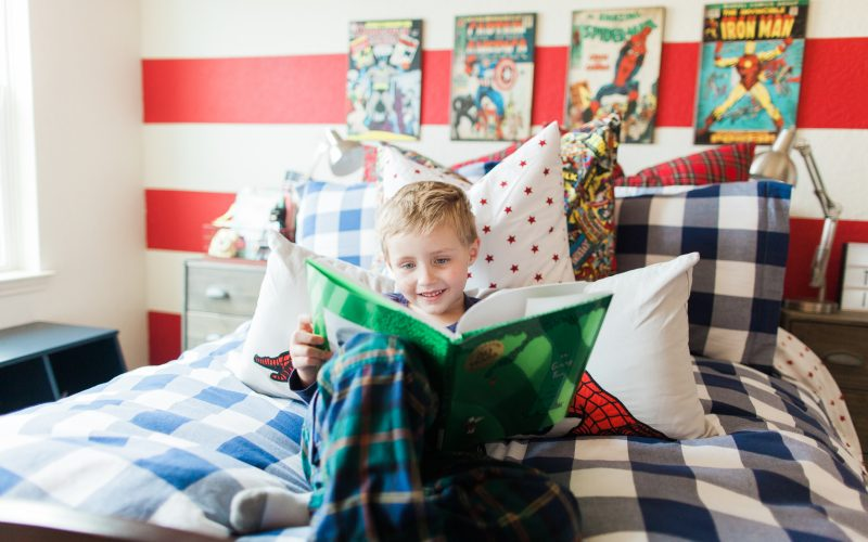 Home Tour Tuesday: Teddy's Superhero Bedroom