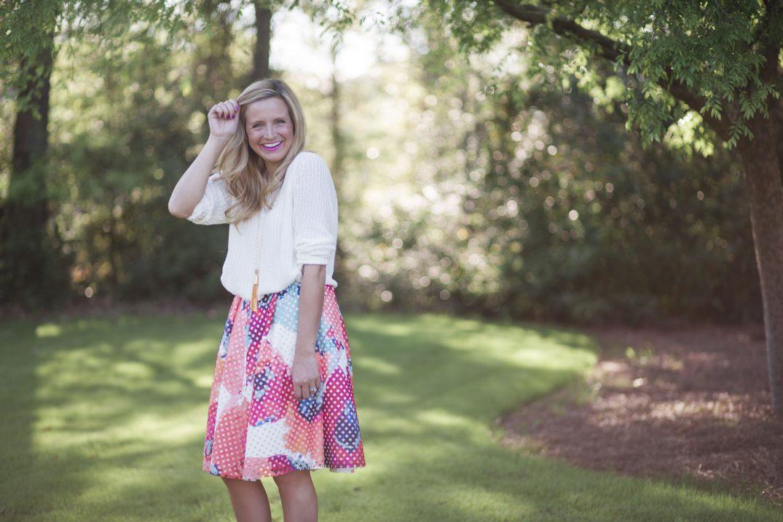 One Skirt, Three Ways // Fancy Ashley