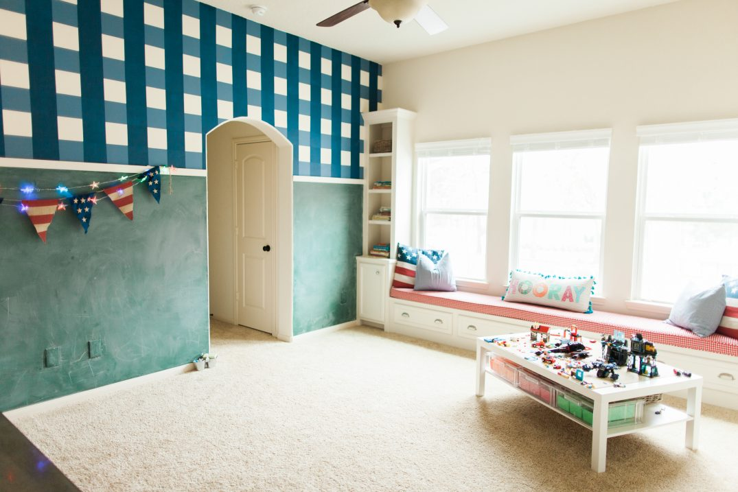 Home Tour Tuesday: Presidential Playroom // Fancy Ashley
