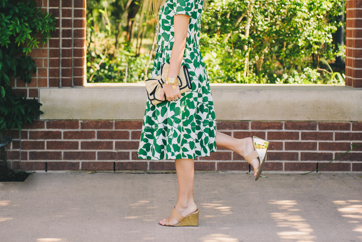 Kate Spade Crop Top and Skirt