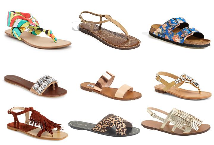 spring sandals // fancy ashley