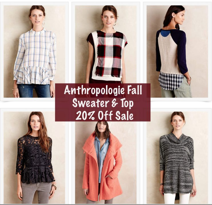Anthropologie Fall Sweater Sale