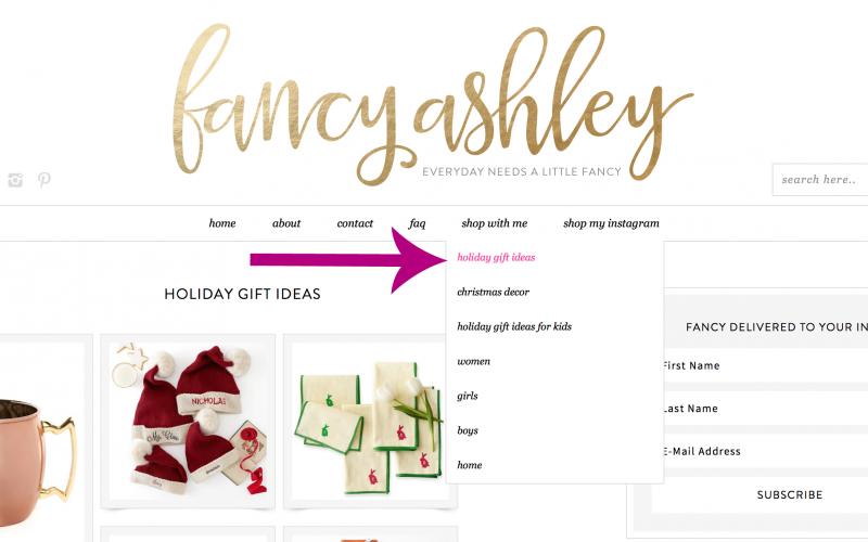 Holiday Bloggity Blog Housekeeping
