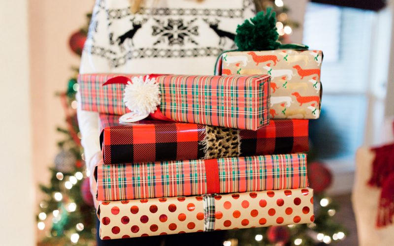 Holiday Hop: Gift Wrapping Idea