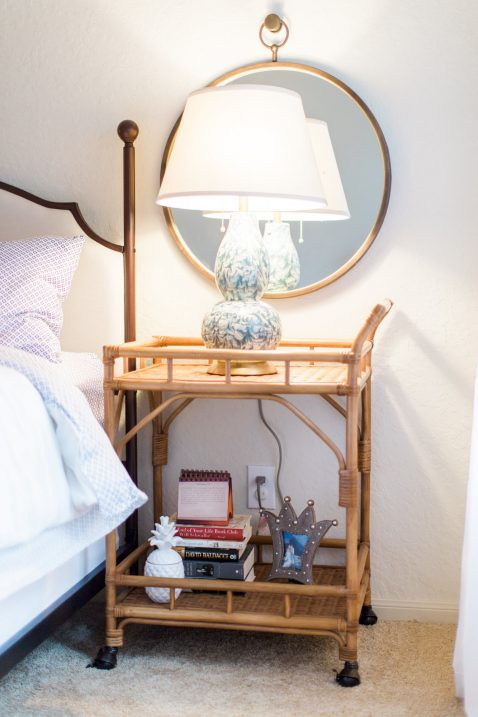 bar cart nightstand
