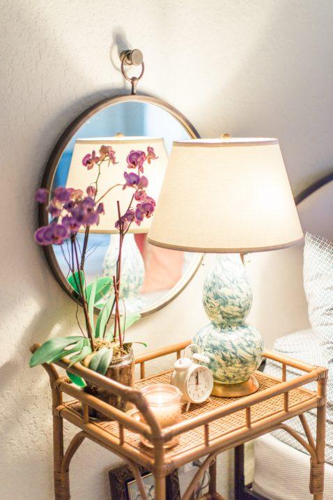 nightstand barcart
