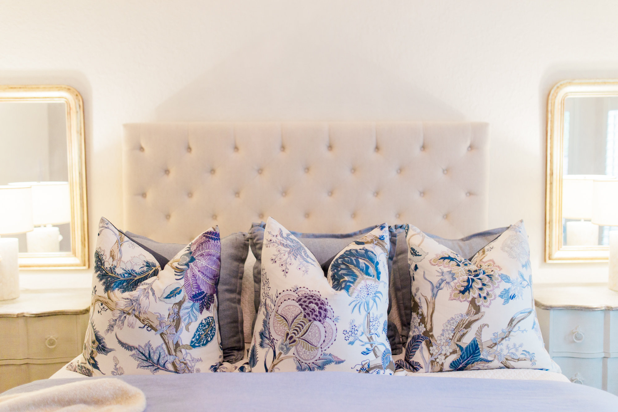 Top 5 Etsy favorites featured by popular Houston life and style blogger, Fancy Ashley: image of floral pillow covers available on Etsy