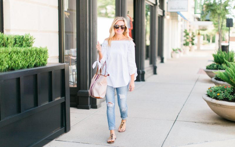 Off The Shoulder Top-Two Ways