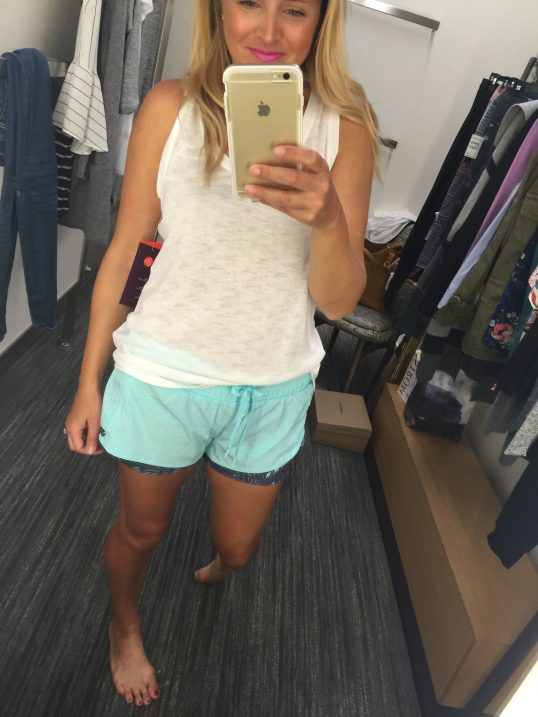 zella shorts 2 - Nordstrom Anniversary Sale Early Access; the best deals featured by popular Houston fashion blogger, Fancy Ashley