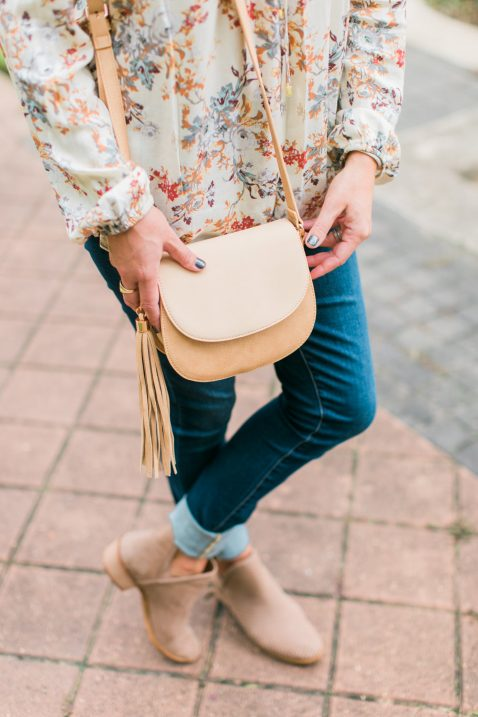 Fall Top, Jeans & Booties