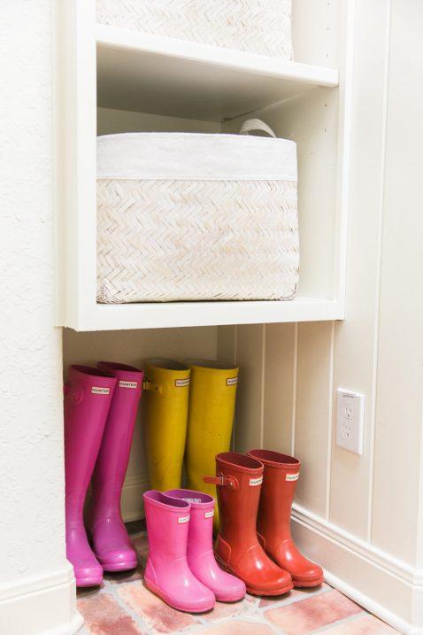 Brick Floors Laundry Room