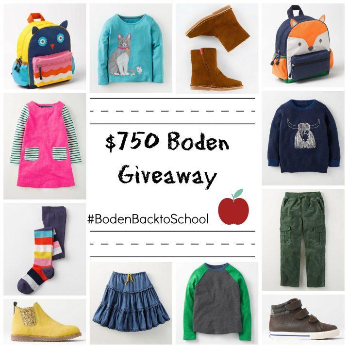 #BodenBacktoSchool giveaway image