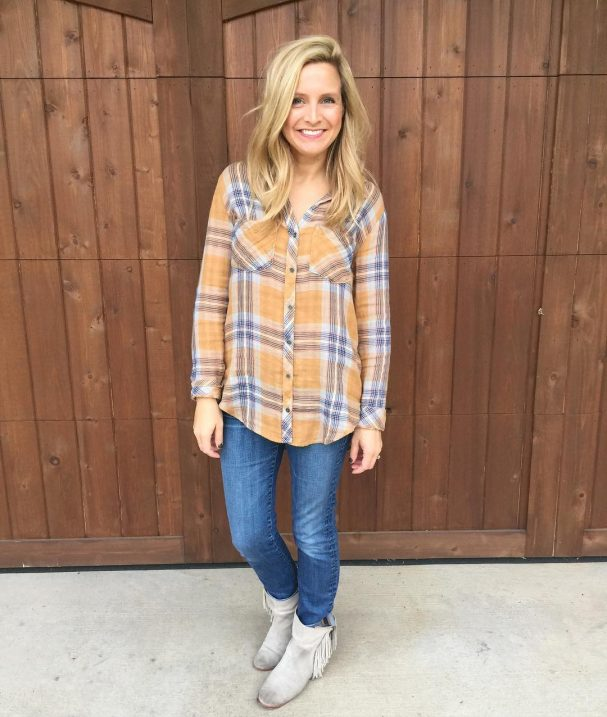 flannel top