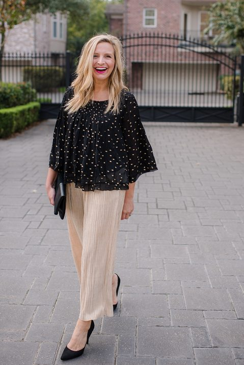 fancy-ashley-anthrolpologie-gold-pants-black-top-12