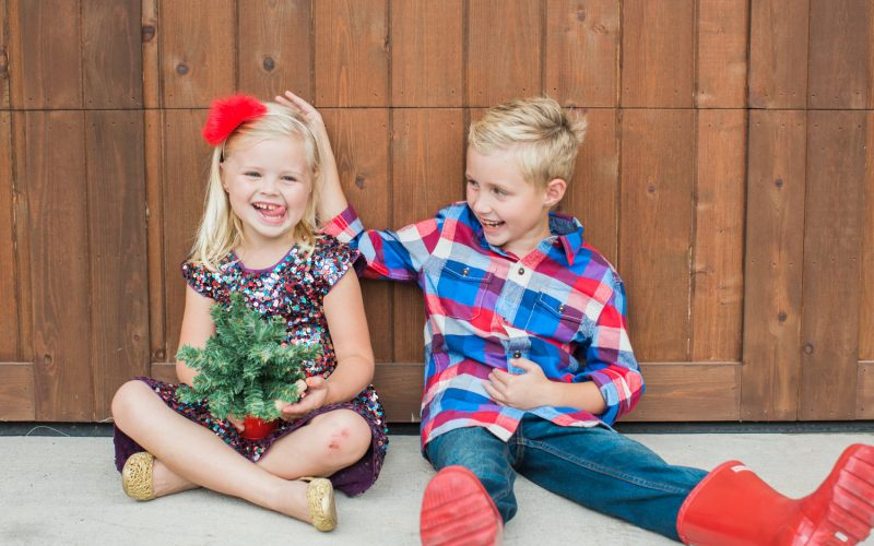 Holiday Card Outfit Ideas for Kids