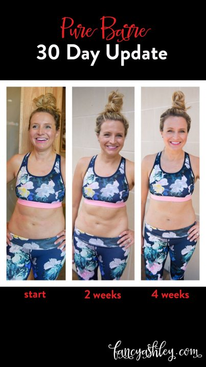 pure barre 30 day update