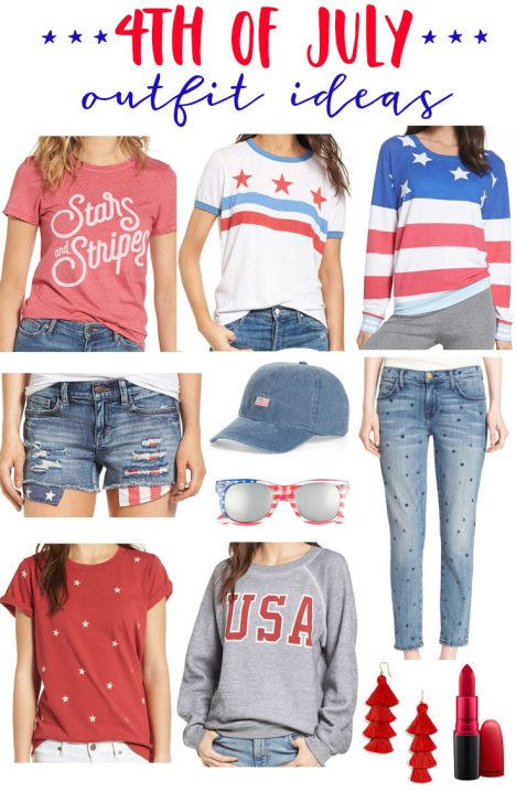 bccc07bc8b00 4th of July Outfit Ideas for Women and Kids - Fancy Ashley