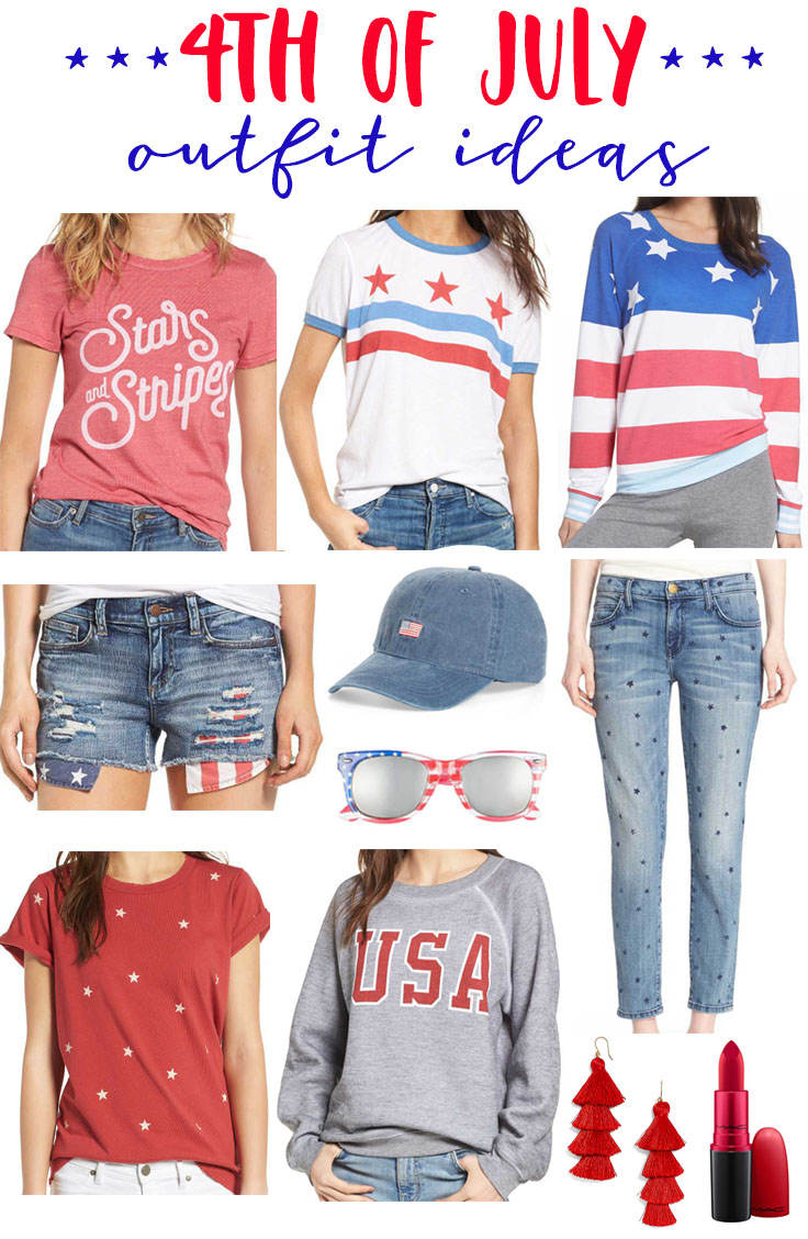 97e919dffd 4th of July Outfit Ideas for Women and Kids - Fancy Ashley