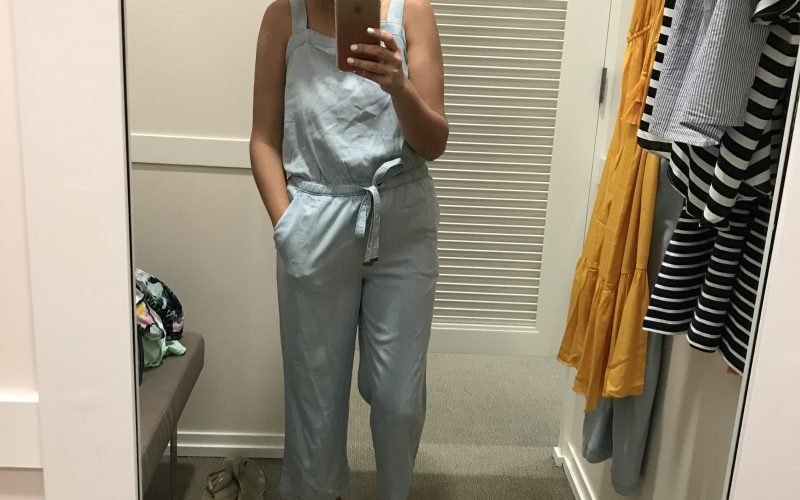 Fancy Fitting Room Finds-Loft Sale Edition