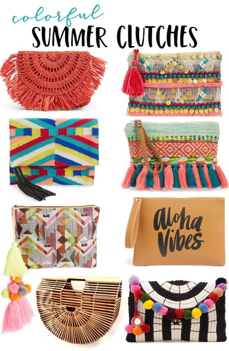 clutches for summer