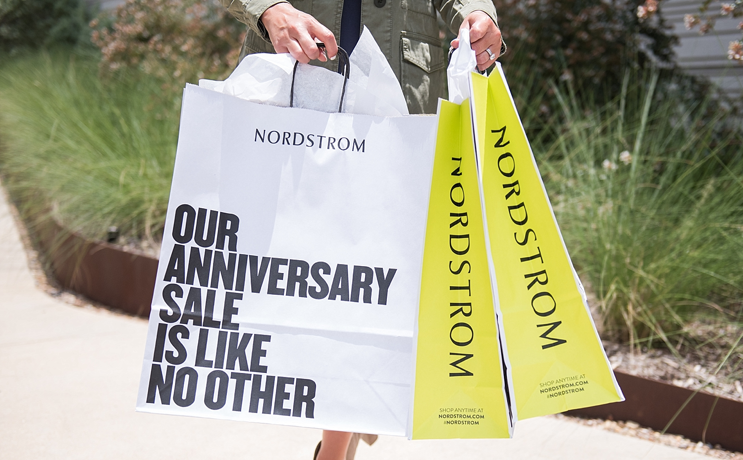 A Fantastic Nordstrom Anniversary Sale Giveaway featured by popular Houston fashion blogger, Fancy Ashley