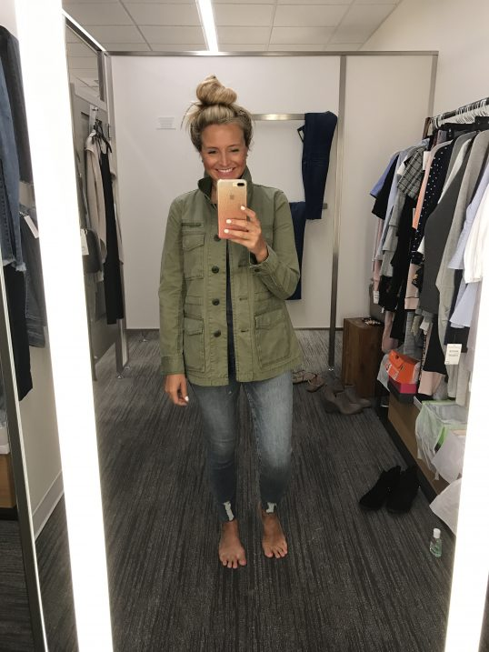 Madewell Jacket - A Fantastic Nordstrom Anniversary Sale Giveaway featured by popular Houston fashion blogger, Fancy Ashley