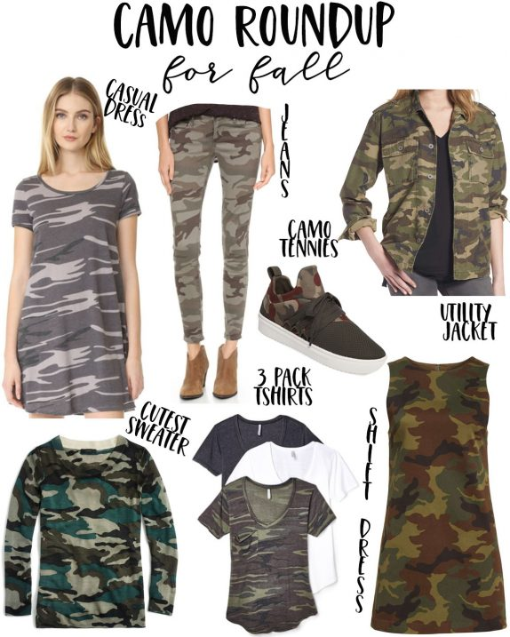 Camo Clothes for Fall