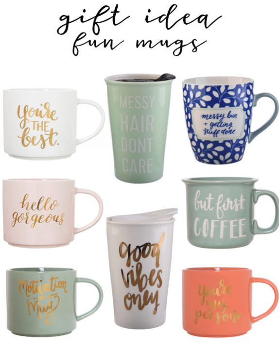 gift idea coffee mugs