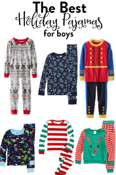 boys christmas pajamas