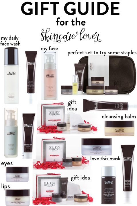 skincare lover gift guide