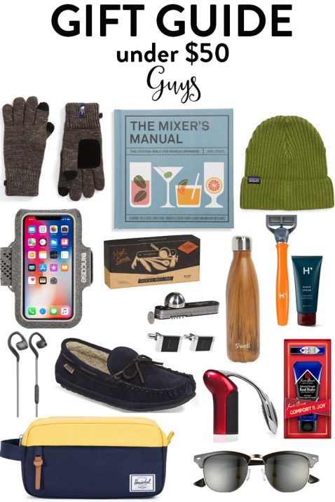 Gift Guide: Gifts Under $50 For Him and