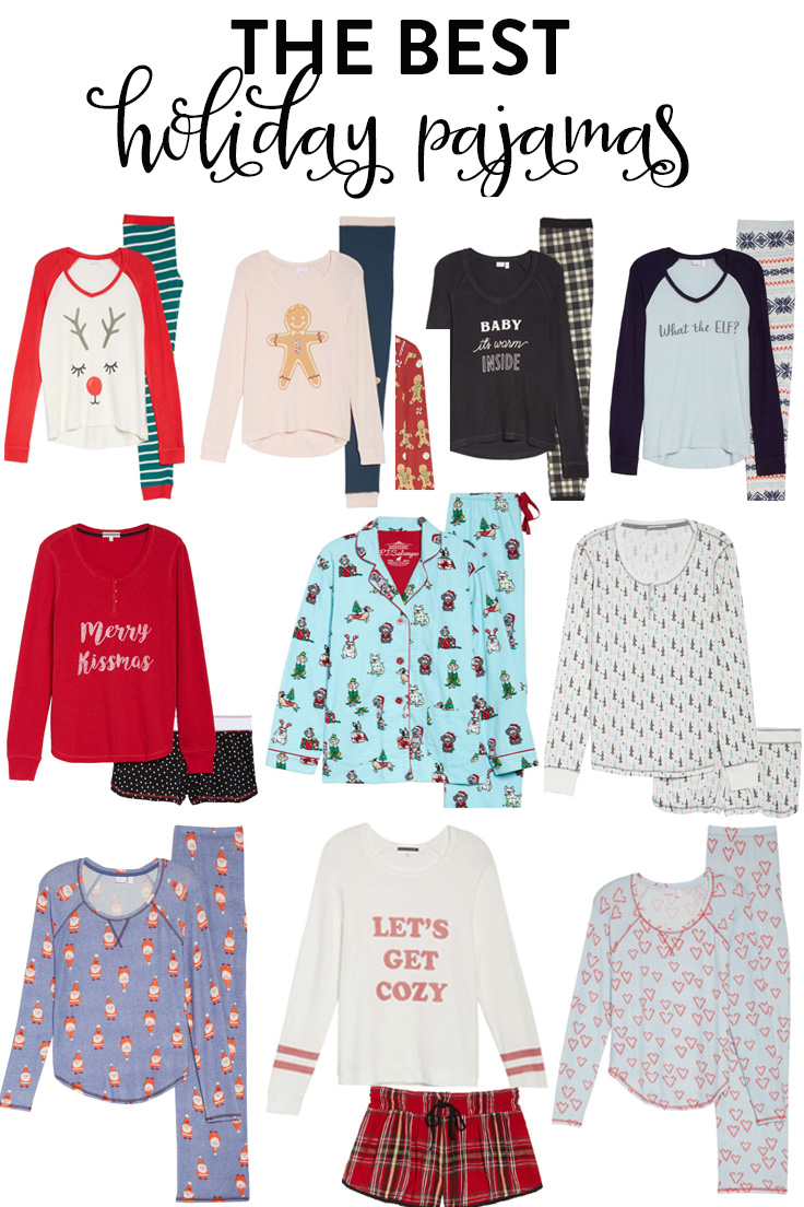 c602c83477 The Best Holiday Pajamas for Women - Fancy Ashley