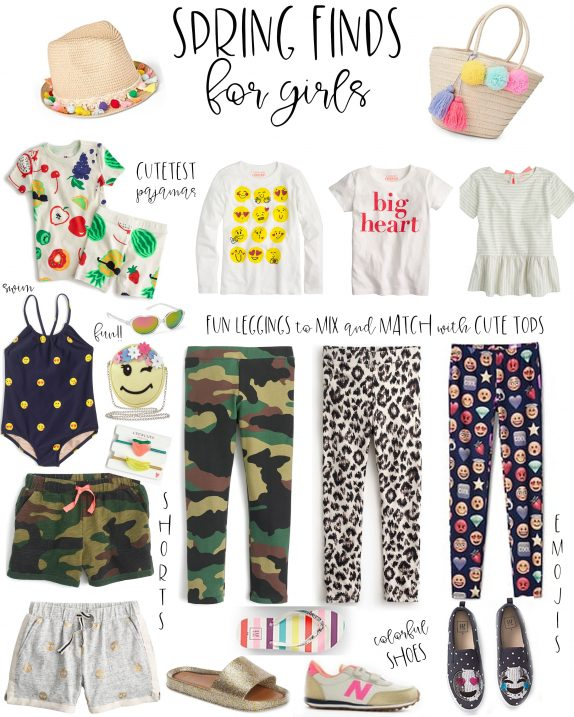 spring finds for little girls