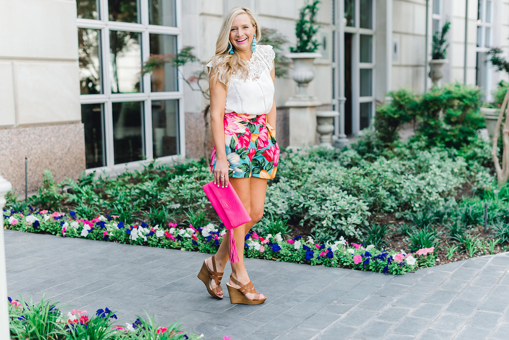 Sole Society summer shoes featured by popular Houston fashion blogger, Fancy Ashley