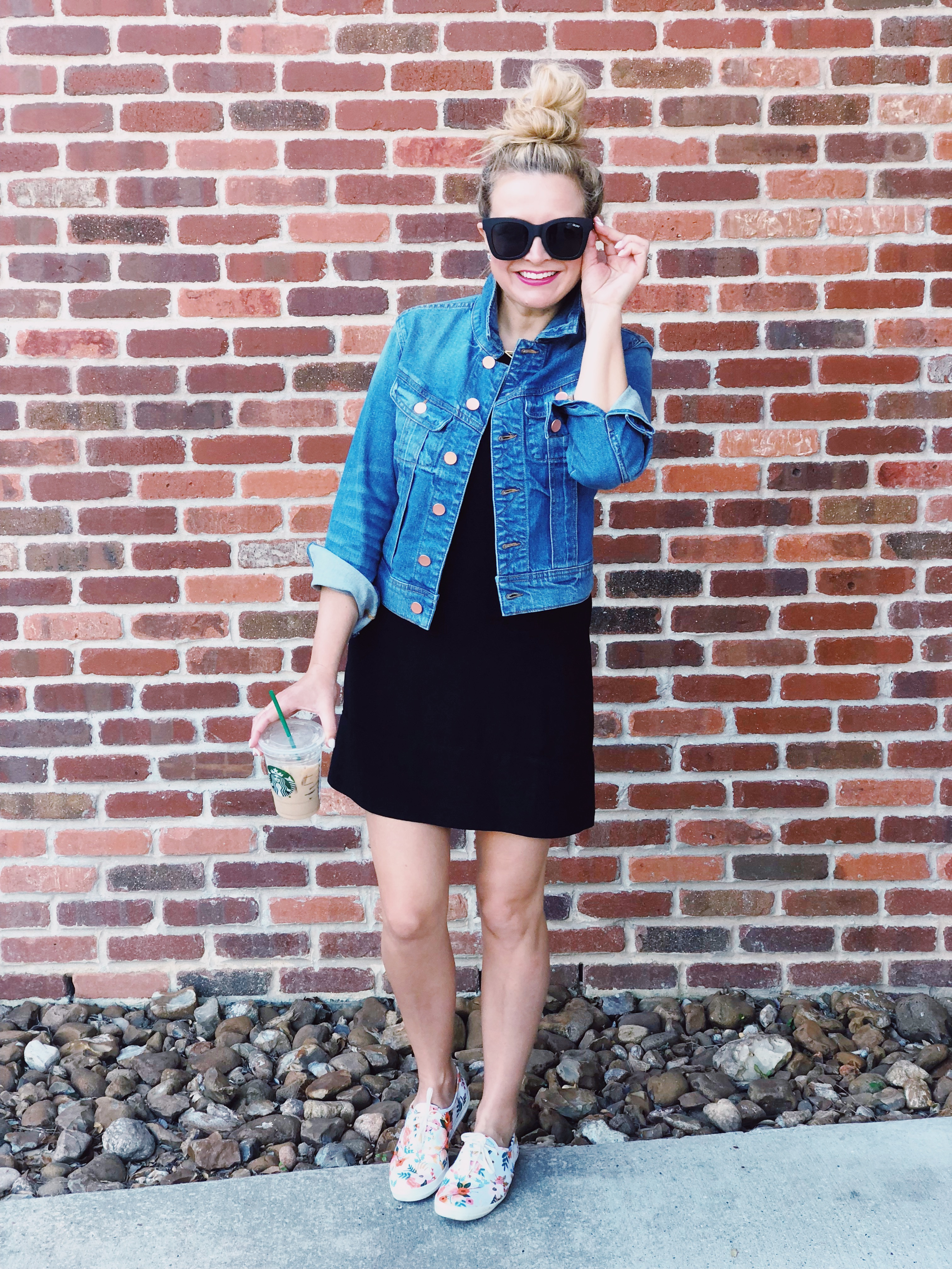 The best black dress - Nordstrom Summer Outfits styled by popular Houston fashion blogger, Fancy Ashley